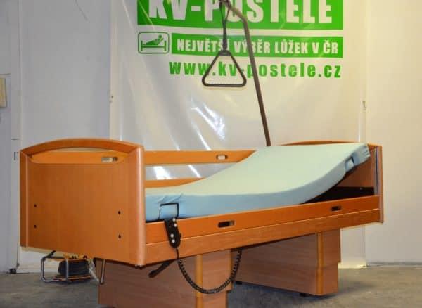 elektricky a mechanicky polohovaci postele, elektrická a machanická pečovatelská polohovací lůžka, postele pro seniory