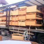 nakládání polohovacích postelí KV-POSTELE